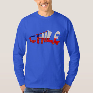 Chile Soccer Cleat Design T-Shirt