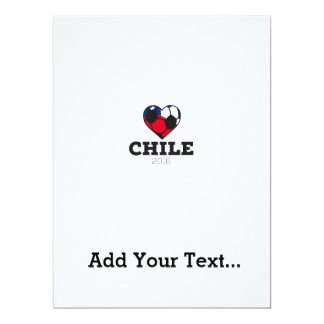 Chile Soccer Shirt 2016 Card