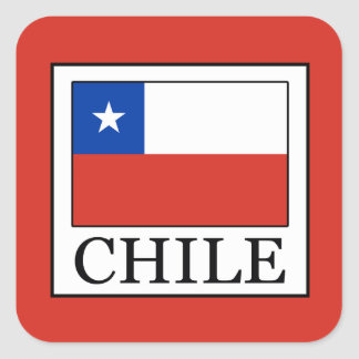 Chile Square Sticker