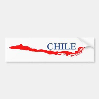 Chile sticker bumper stickers