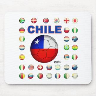 Chile T-Shirt D7 Mouse Pad
