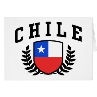 Chile Tarjeta De Felicitación