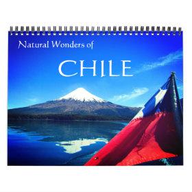 chile travels 2021 calendar