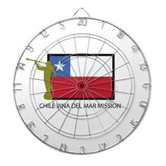 Chile Vina del Mar Mission LDS CTR Dartboards