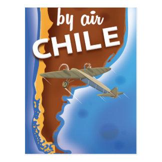 Chile Vintage Travel poster Postcard