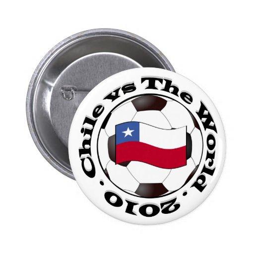 Chile vs The World Pinback Button