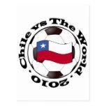 Chile vs The World Postcard