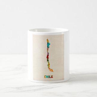 Chile Watercolor Map Coffee Mug