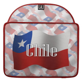Chile Waving Flag Sleeve For MacBook Pro