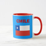 Chile* y taza de café intrépida del CL