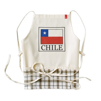 Chile Zazzle HEART Apron
