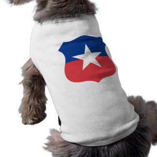 Chilean Air Force roundel, Chile Doggie T Shirt