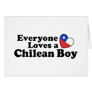 Chilean Boy Card