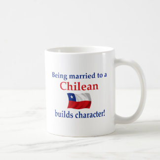 Chilean Builds Character Classic White Coffee Mug