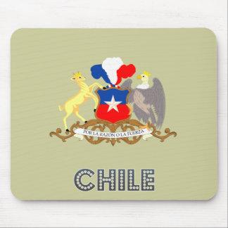 Chilean Emblem Mouse Pad