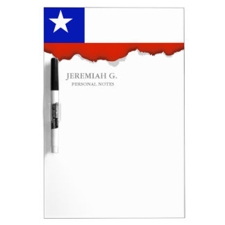 Chilean Flag Dry Erase Board