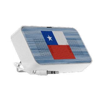 Chilean Flag Floating on water Notebook Speakers