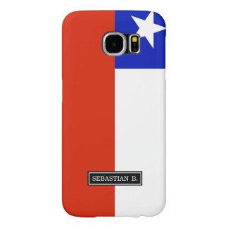 Chilean Flag Samsung Galaxy S6 Cases