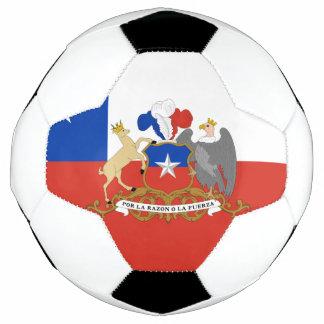 Chilean flag soccer ball