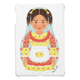 Chilean Girl Matryoshka iPad Mini Case