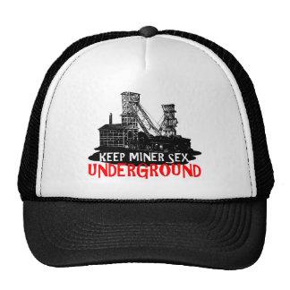 Chilean miner trucker hat