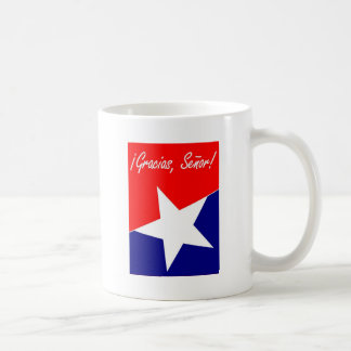 Chilean Miners Gracias, Señor! Classic White Coffee Mug