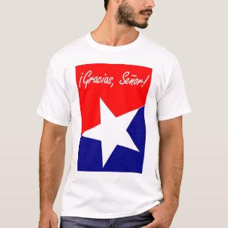 Chilean Miners Gracias, Señor! Psalm 95:4 SPANISH T-Shirt