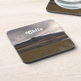 Chilean Mountains Beverage Coasters