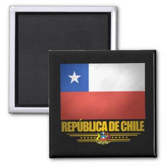 """""""Chilean Pride"""" 2 Inch Square Magnet"""