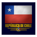 """Chilean Pride"" Posters & Prints"
