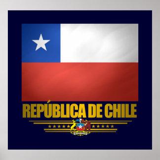 """Chilean Pride"" Posters & Prints"