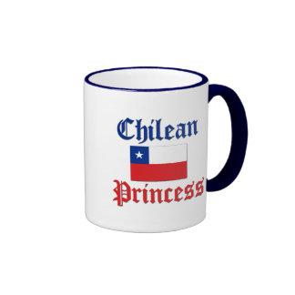 Chilean Princess Ringer Coffee Mug