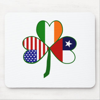 Chilean Shamrock Mouse Pad