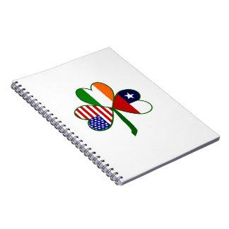 Chilean Shamrock Notebook