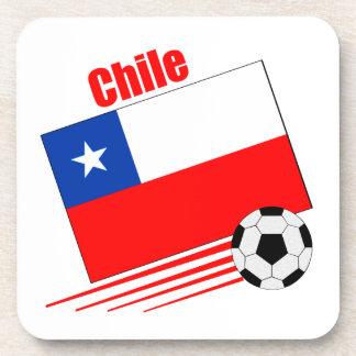 Chilean Soccer Team Coasters