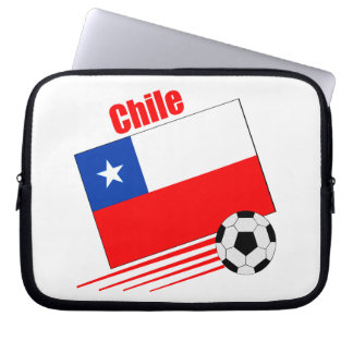 Chilean Soccer Team Laptop Sleeve