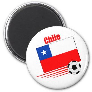 Chilean Soccer Team Fridge Magnet