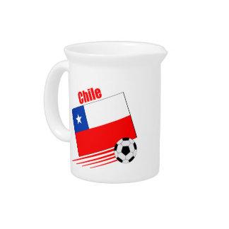 Chilean Soccer Team Drink Pitcher