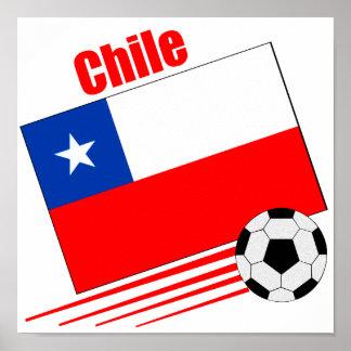 Chilean Soccer Team Poster