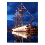 Chilean Tall Ship Esmeralda Postcard