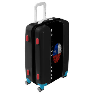 Chilean touch fingerprint flag luggage