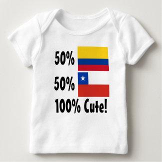 Chileno colombiano del 50% el 50% el 100% lindo playera