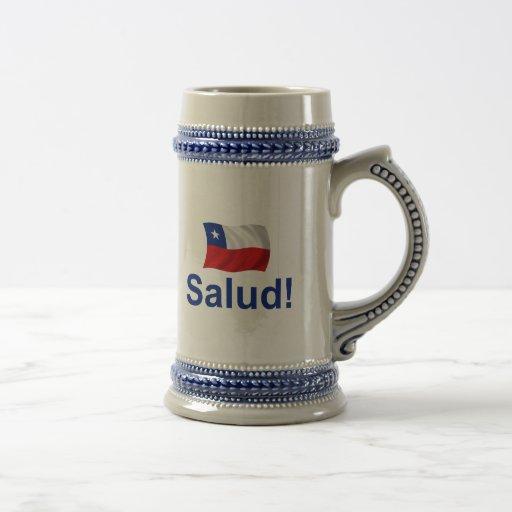 ¡Chileno Salud! (Alegrías!) Taza De Café
