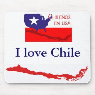 Chilenos en USA I - Mousepad