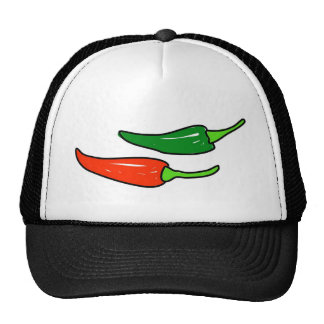 chiles gorros bordados