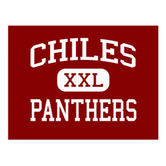 Chiles - Panthers - Middle School - Oviedo Florida Postcard