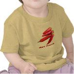 Chiles picantes infantiles camiseta