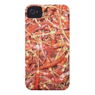 chiles rojos secados iPhone 4 Case-Mate protector