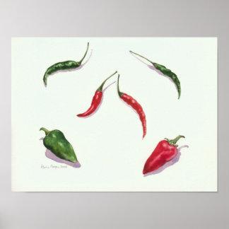 Chiles y pimientas 2005 póster