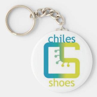 ChilesShoes Logo Keychain